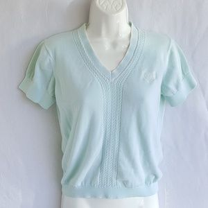 Tommy Hilfiger knitted blouse, top, size medium.